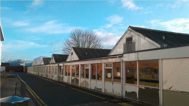 hereford hospital wards asbestos removal